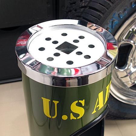 ミリタリースタンド灰皿 U.S.アーミー(アメリカ陸軍)の灰皿