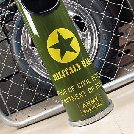 ミリタリースタンド灰皿 U.S.アーミー(アメリカ陸軍)の下部