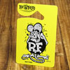 ラットフィンク(RAT FINK)パーキングパーミット/イエロー