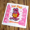 ラットフィンク(RAT FINK)ハンドタオル/ピンク