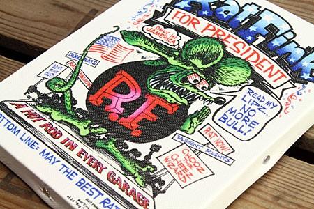 ラットフィンク ポスター キャンバスパネル Rat Fink PRESIDENT の詳細