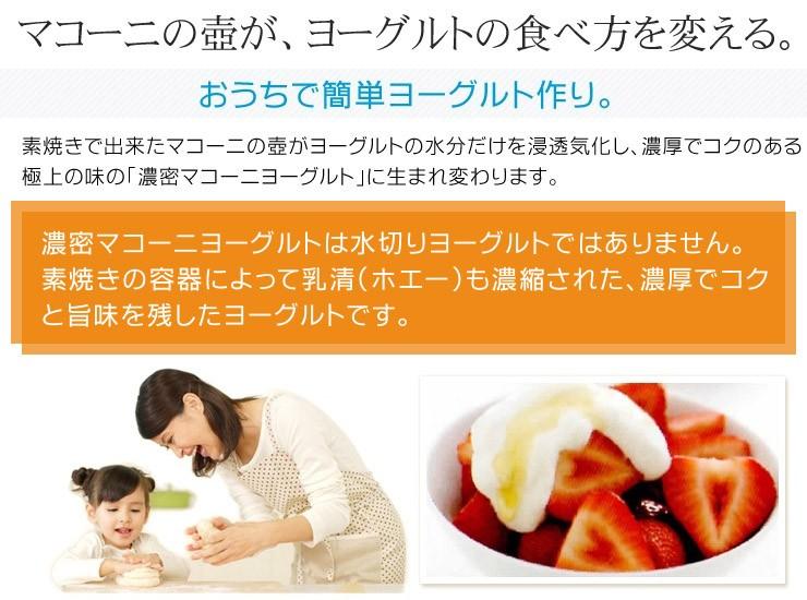 マコーニの壷が、ヨーグルトの食べ方を変える