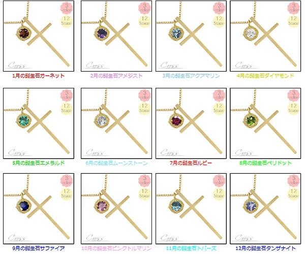 12誕生石 ネックレス