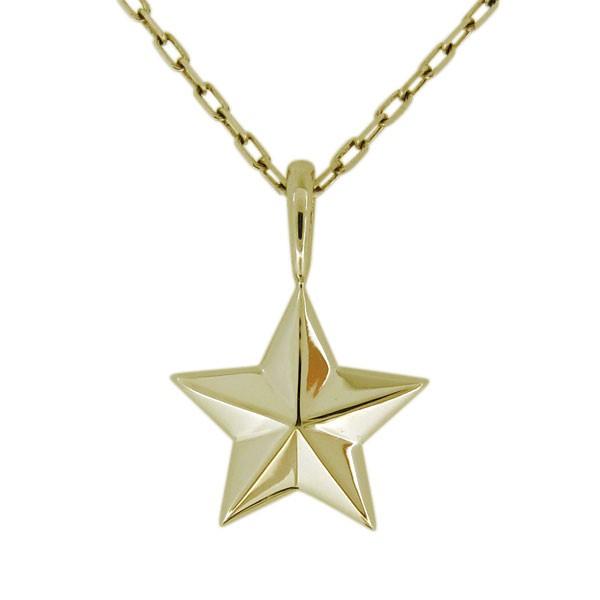 星 シンプル スター ネックレス