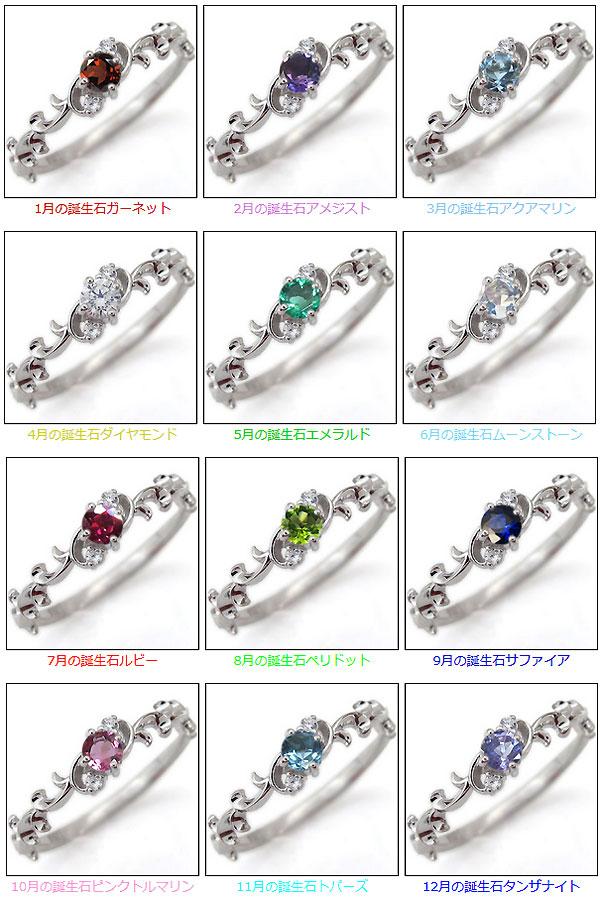 天然石 誕生石 指輪