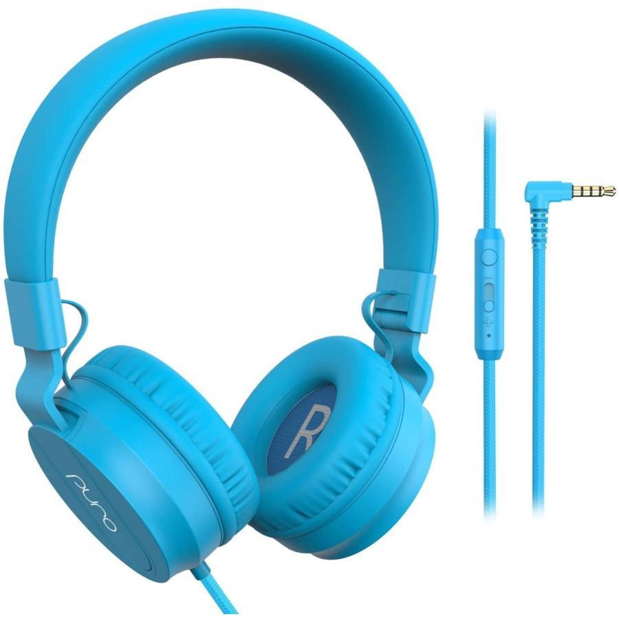 公式  PuroBasic 85dB音量制限機能搭載ヘッドホン 子供用 有線タイプ Puro Sound Labs|plu|15