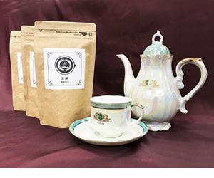 授産製品として王茶は誕生しました。