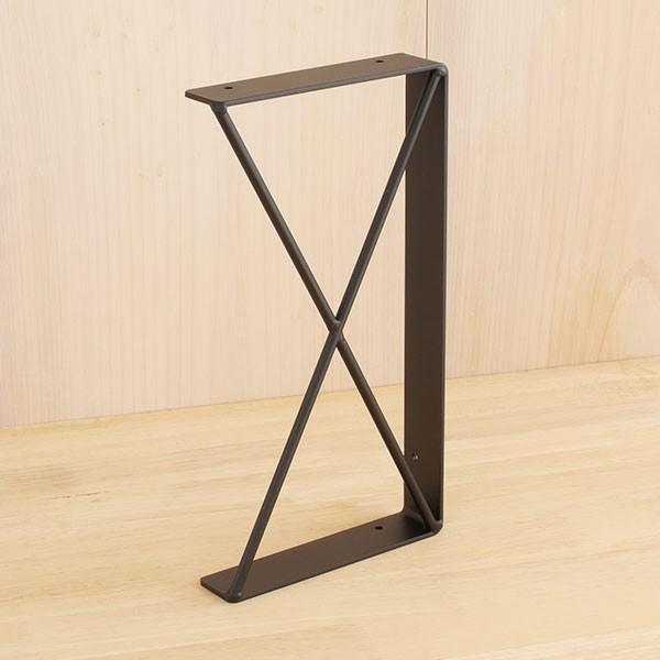 棚受け おしゃれ アイアン 2段仕様 金具  DIY  黒 日本製   アイアン棚受け21|plusbox|19
