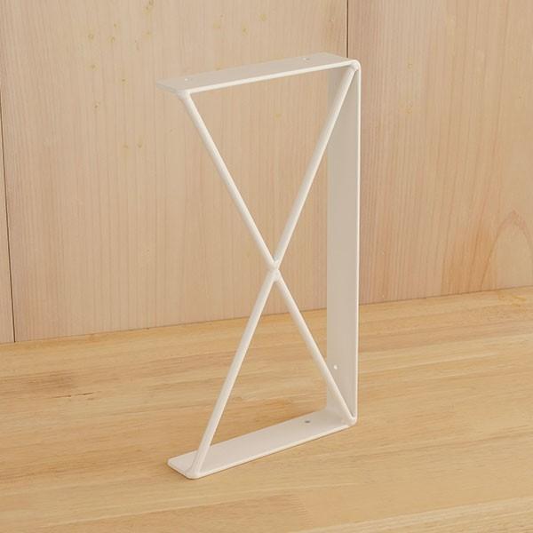 棚受け おしゃれ アイアン 2段仕様 金具  DIY  黒 日本製   アイアン棚受け21|plusbox|20
