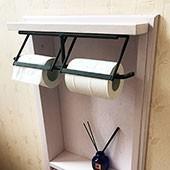 トイレ ペーパーホルダー のレビュー