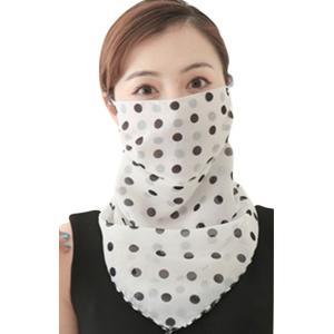 スカーフマスク フェイスマスク フェイスガード フェイスカバー レディース 女性 女の子 ファッション小物 衛生日用品 2way 飛沫防止 日焼け防止 プラスナオ PayPayモール店