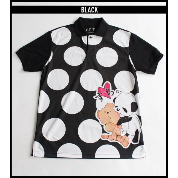 ファンキーフルーツオリジナル Bear&Panda すち!ベア&パンダフルグラフィック ポロシャツ/1点のみメール便可能/ttp1550-3/07n|pmcorporation|16