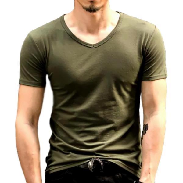 おしゃれ 無地 tシャツ メンズ カジュアル 半袖 シャツ シンプル ファッション|pomodoro82|12