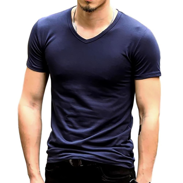 おしゃれ 無地 tシャツ メンズ カジュアル 半袖 シャツ シンプル ファッション|pomodoro82|09
