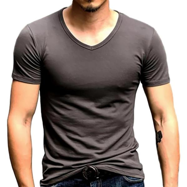おしゃれ 無地 tシャツ メンズ カジュアル 半袖 シャツ シンプル ファッション|pomodoro82|13