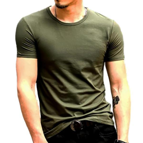 おしゃれ 無地 tシャツ メンズ カジュアル 半袖 シャツ シンプル ファッション|pomodoro82|08