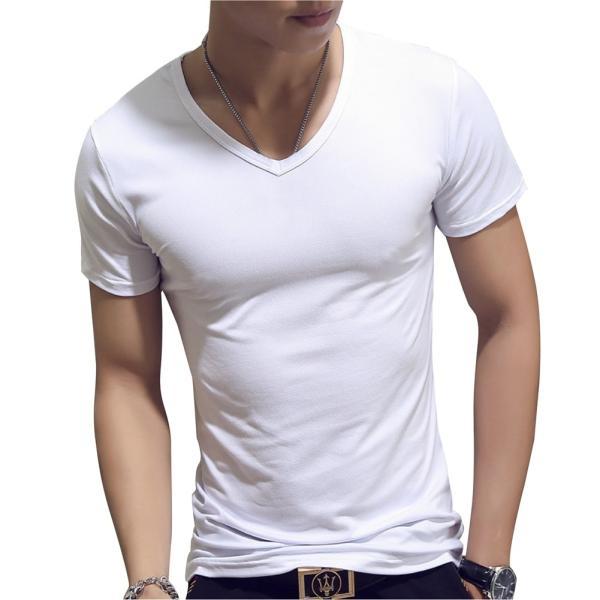 ドライ 速乾 無地 tシャツ メンズ 半袖 おしゃれ タイト フィット シャツ|pomodoro82|07