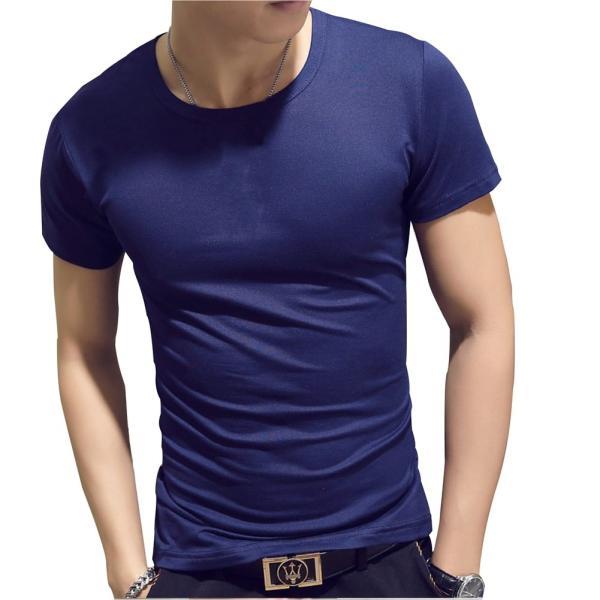 ドライ 速乾 無地 tシャツ メンズ 半袖 おしゃれ タイト フィット シャツ|pomodoro82|14