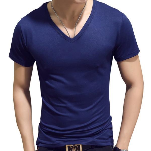 ドライ 速乾 無地 tシャツ メンズ 半袖 おしゃれ タイト フィット シャツ|pomodoro82|10