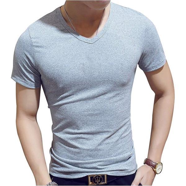 ドライ 速乾 無地 tシャツ メンズ 半袖 おしゃれ タイト フィット シャツ|pomodoro82|09