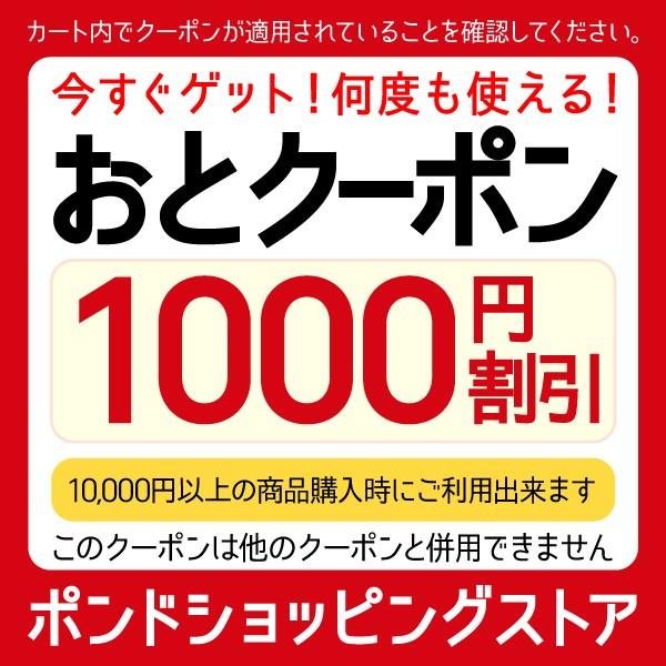 10,000円以上お買いもので1,000円OFF!
