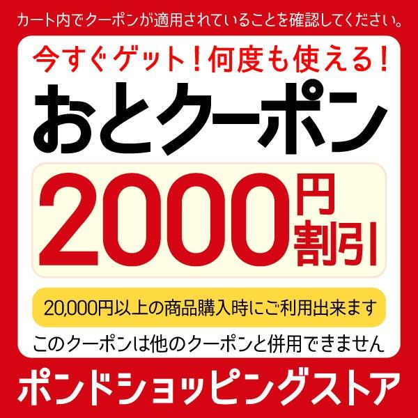 20,000円以上お買いもので2,000円OFF!