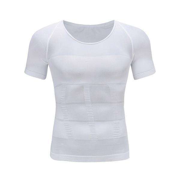 加圧シャツ 加圧インナー メンズ 半袖 筋トレ 姿勢 補正下着 ダイエット サポート|popularshop|07
