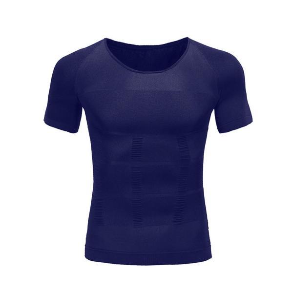 加圧シャツ 加圧インナー メンズ 半袖 筋トレ 姿勢 補正下着 ダイエット サポート|popularshop|08