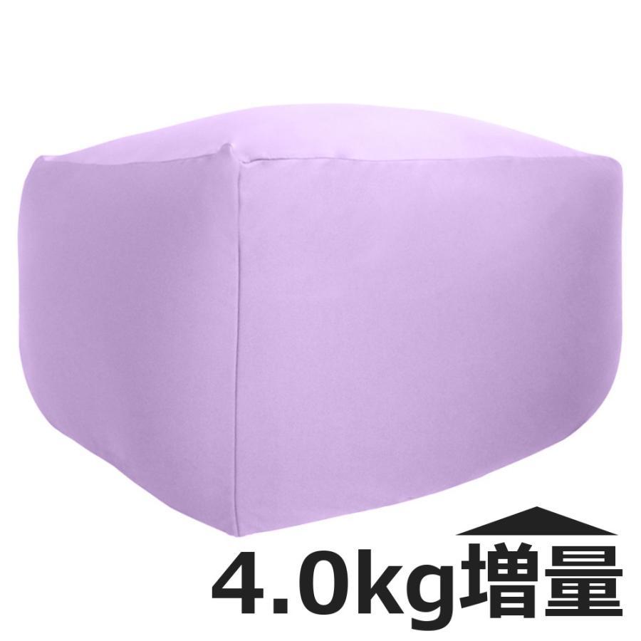 ビーズクッション キューブ ボリュームタイプ 9色 マイクロビーズ 日本充填 くせになる ビーズソファ カバーのみ丸洗い可|poruchan0820|18