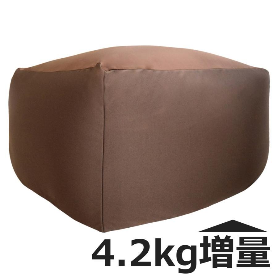 ビーズクッション キューブ ボリュームタイプ エクストラ 9色 マイクロビーズ 日本充填 くせになる ビーズソファ カバーのみ丸洗い可|poruchan0820|14