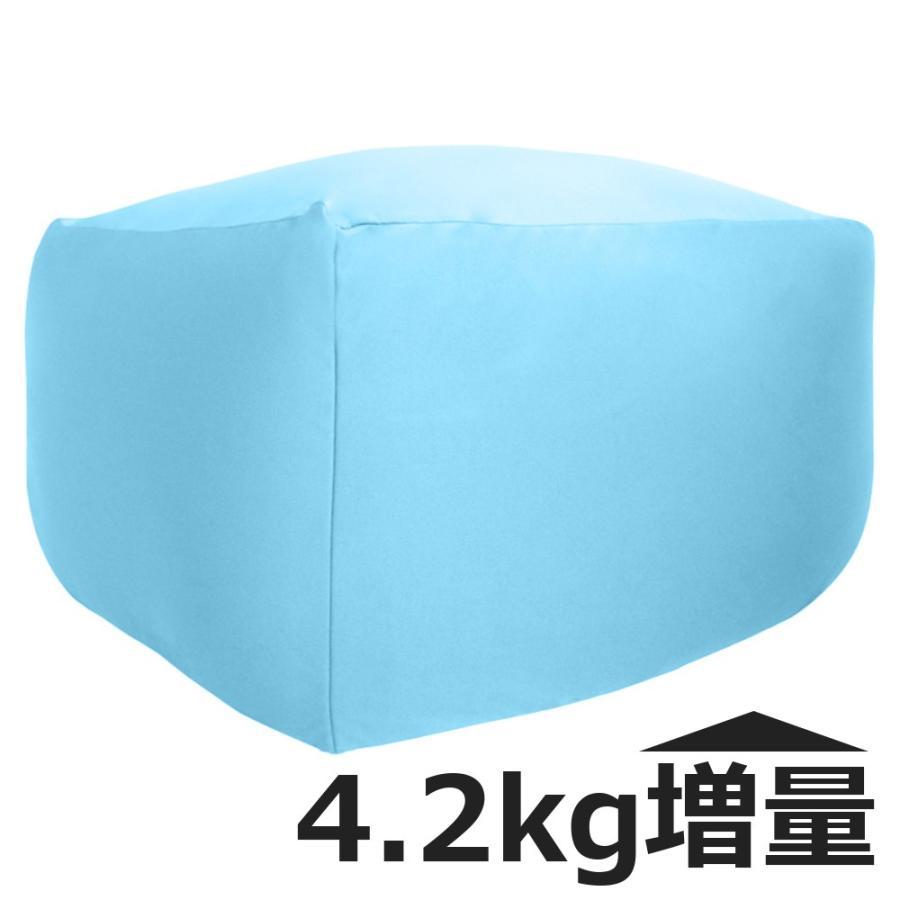 ビーズクッション キューブ ボリュームタイプ エクストラ 9色 マイクロビーズ 日本充填 くせになる ビーズソファ カバーのみ丸洗い可|poruchan0820|20