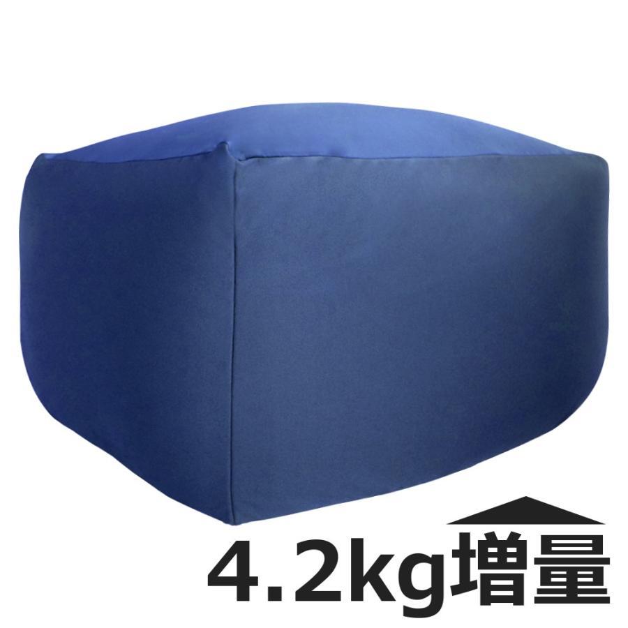 ビーズクッション キューブ ボリュームタイプ エクストラ 9色 マイクロビーズ 日本充填 くせになる ビーズソファ カバーのみ丸洗い可|poruchan0820|16