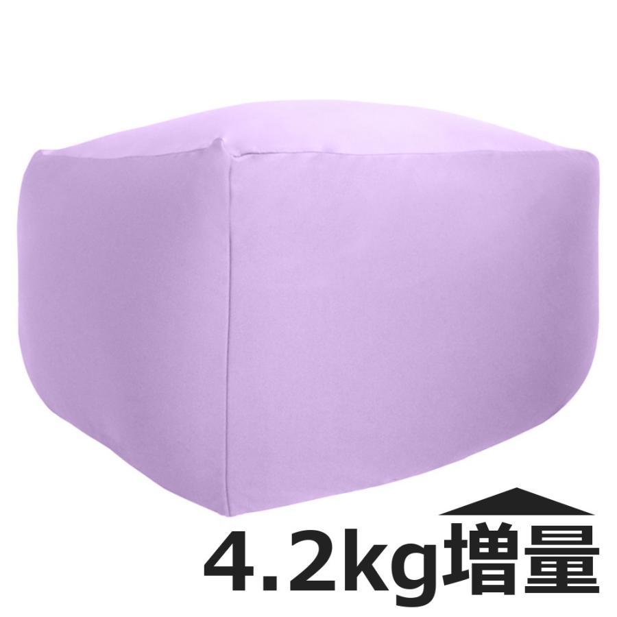 ビーズクッション キューブ ボリュームタイプ エクストラ 9色 マイクロビーズ 日本充填 くせになる ビーズソファ カバーのみ丸洗い可|poruchan0820|18