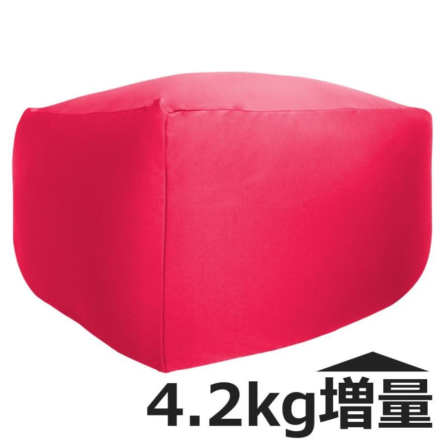 ビーズクッション キューブ ボリュームタイプ エクストラ 9色 マイクロビーズ 日本充填 くせになる ビーズソファ カバーのみ丸洗い可|poruchan0820|22