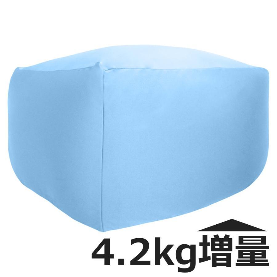 ビーズクッション キューブ ボリュームタイプ エクストラ 9色 マイクロビーズ 日本充填 くせになる ビーズソファ カバーのみ丸洗い可|poruchan0820|19