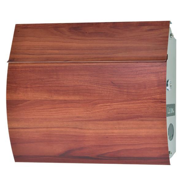 安心【3年保証付】郵便ポスト おしゃれ 壁掛け MB4801 マグネット付き 木目調 鍵付き MAIL BOX表記なし ※日本製|post-sign-leon|11