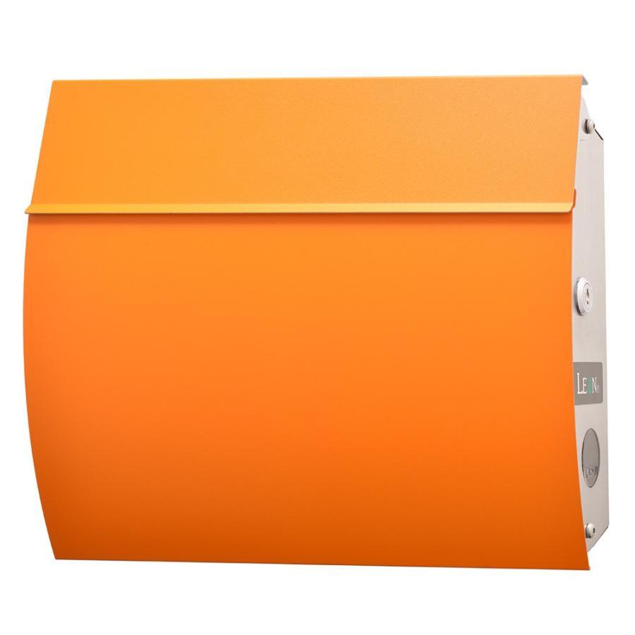 ポスト おしゃれ 壁掛け 郵便ポスト 鍵付き 防水 屋外用 MB4801 木目調 MAILBOX表記無|post-sign-leon|20