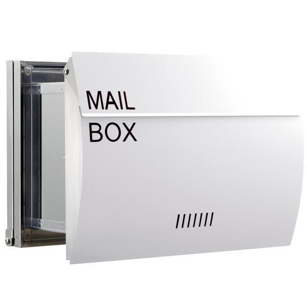 郵便ポスト 埋め込み  木目調 戸建て 大型 MB0310 MAILBOX表記有|post-sign-leon|16