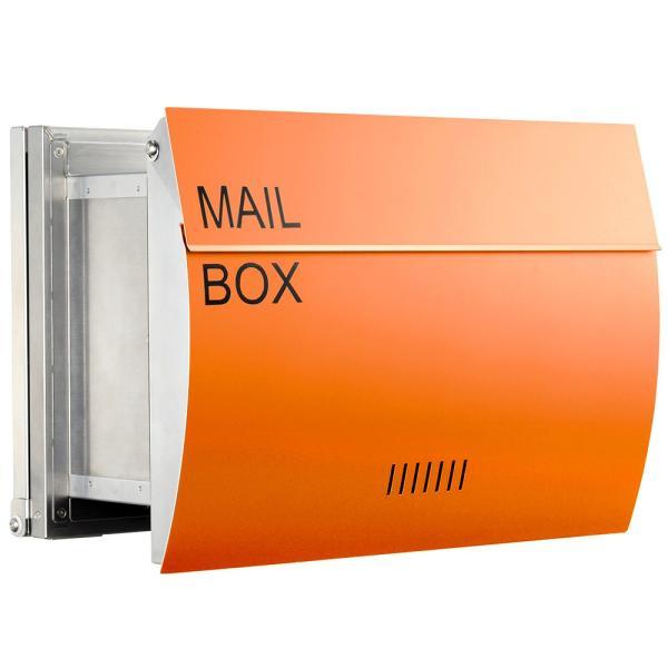 郵便ポスト 埋め込み  木目調 戸建て 大型 MB0310 MAILBOX表記有|post-sign-leon|19