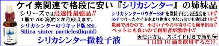 シリカシンターリキッド SSL