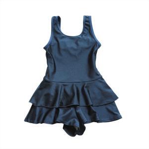 スクール水着 女の子 セパレート ワンピース 練習用 学校用 水着 キッズ 子供 日焼け防止 UVカット スカート 名札 スイムウェア ジュニア|premium-interior|23
