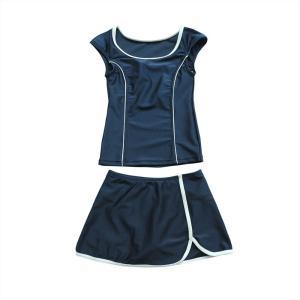 スクール水着 女の子 セパレート ワンピース 練習用 学校用 水着 キッズ 子供 日焼け防止 UVカット スカート 名札 スイムウェア ジュニア|premium-interior|29