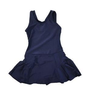スクール水着 女の子 セパレート ワンピース 練習用 学校用 水着 キッズ 子供 日焼け防止 UVカット スカート 名札 スイムウェア ジュニア|premium-interior|31