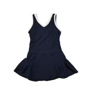 スクール水着 女の子 セパレート ワンピース 練習用 学校用 水着 キッズ 子供 日焼け防止 UVカット スカート 名札 スイムウェア ジュニア|premium-interior|33