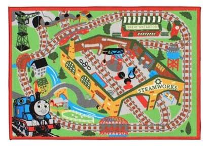きかんしゃトーマス ゲームラグ【じゅうたん カーペット 子ども部屋 おもちゃ Game Rug】 Th001