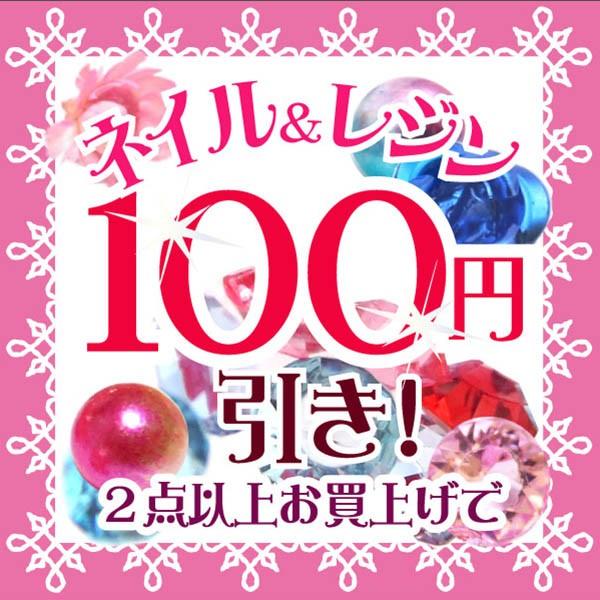 ストア内全品対象 2点以上お買い上げで100円引き!