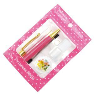 ハーバリウムボールペン 手作り ペン キット 花材 ミネラルオイル 予備の替え芯付き|princess-factory|25