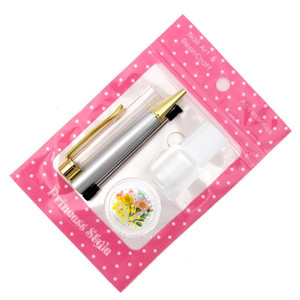ハーバリウムボールペン 手作り ペン キット 花材 ミネラルオイル 予備の替え芯付き|princess-factory|17