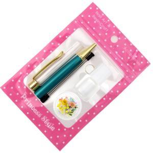 ハーバリウムボールペン 手作り ペン キット 花材 ミネラルオイル 予備の替え芯付き|princess-factory|21