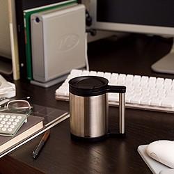 サーモス・真空断熱保温オフィスマグは、オフィスでの使用に最適化されています。